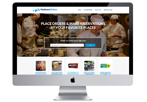 Website Restaurant Demo